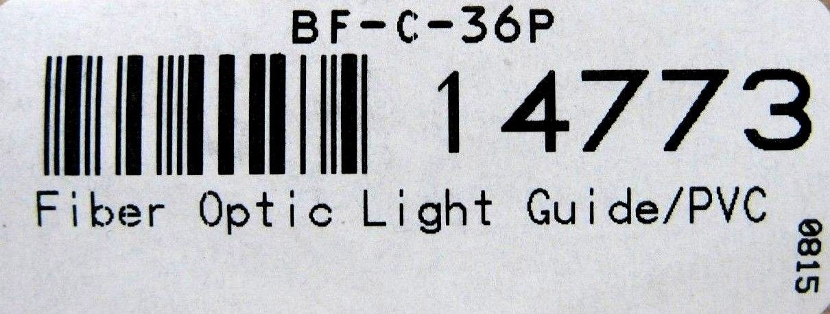 NEW TRI TRONICS BF-C-36P FIBER OPTIC LIGHT GUIDE BFC36P 14773 – SB  Industrial Supply, Inc.