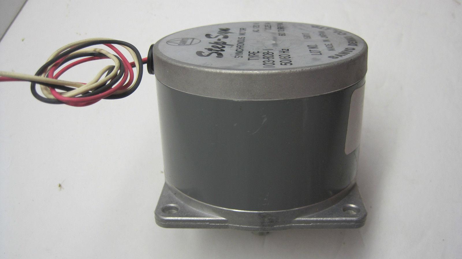 Sb industrial supply mro plc industrial equipment parts for Step syn sanyo denki stepping motor datasheet