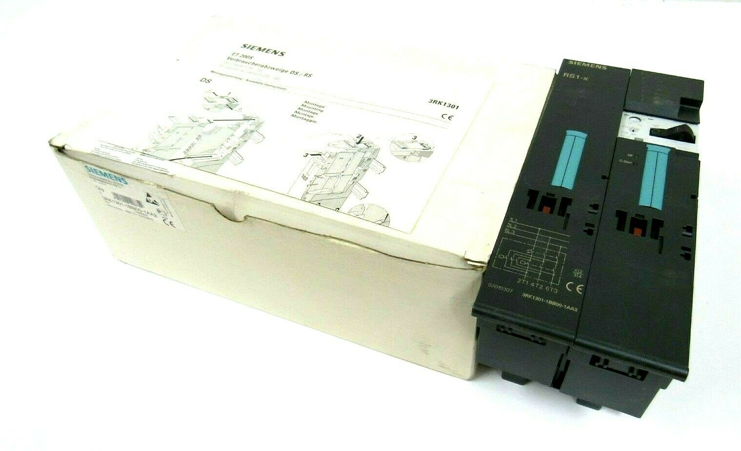 ONE NEW SIEMENS motor starter 3RK1301-1EB00-1AA2