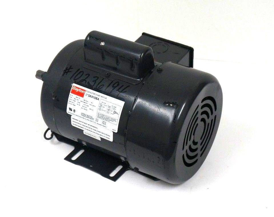 Sb industrial supply mro plc industrial equipment parts for Dayton capacitor start motor