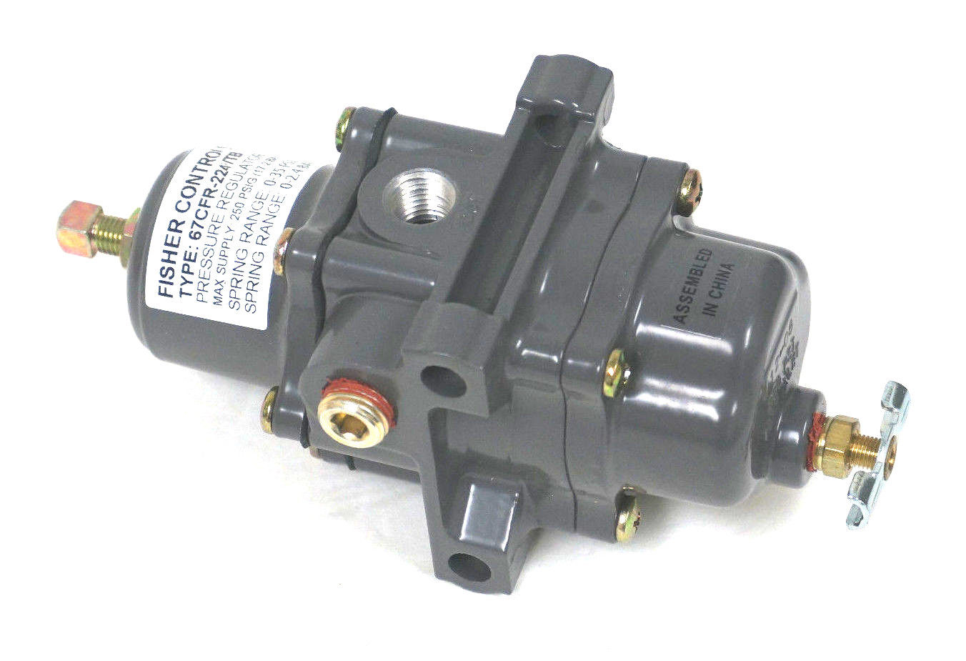 contactor parts with New Fisher Controls 67cfr 224tb Pressure Regulator 67cfr224tb on 25 Schneider Gv2 Mag o Thermal Circuit Breakers in addition Dilm7 10 24vdc as well 136 Triumph Bonneville Rambler likewise 3rh1921 1fa22 furthermore 3 Phase Contactor With Start Stop Wiring Diagram.