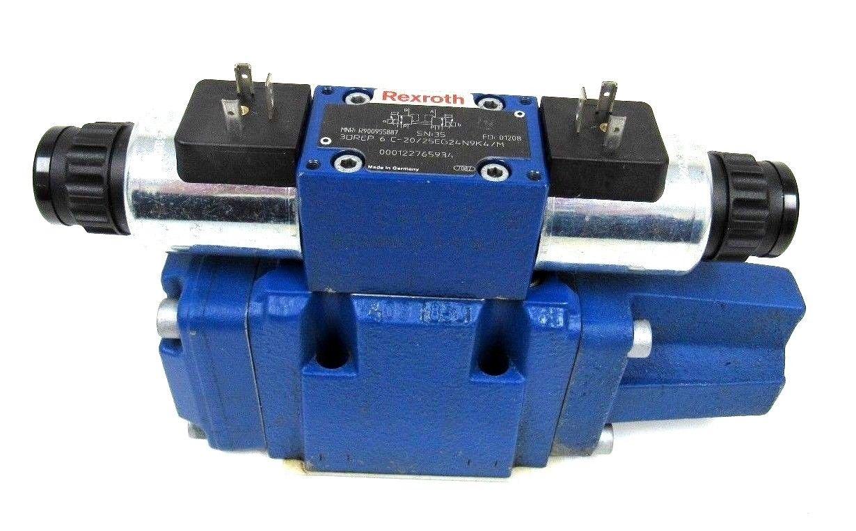 USED REXROTH R900955887 VALVE 3DREP-6-C-20/25EG24N9K4/M R900971474