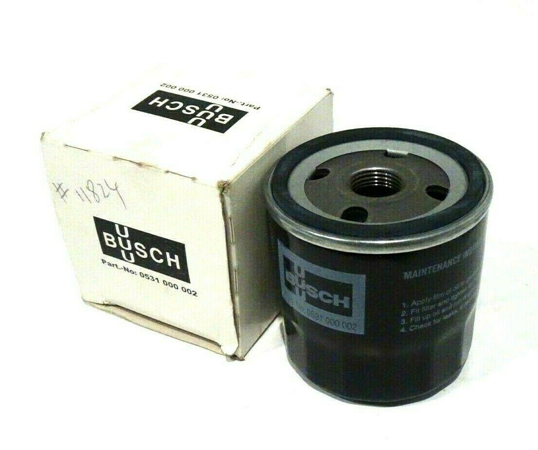 Busch Oil Filter 0531-000-002 76479-0001 New