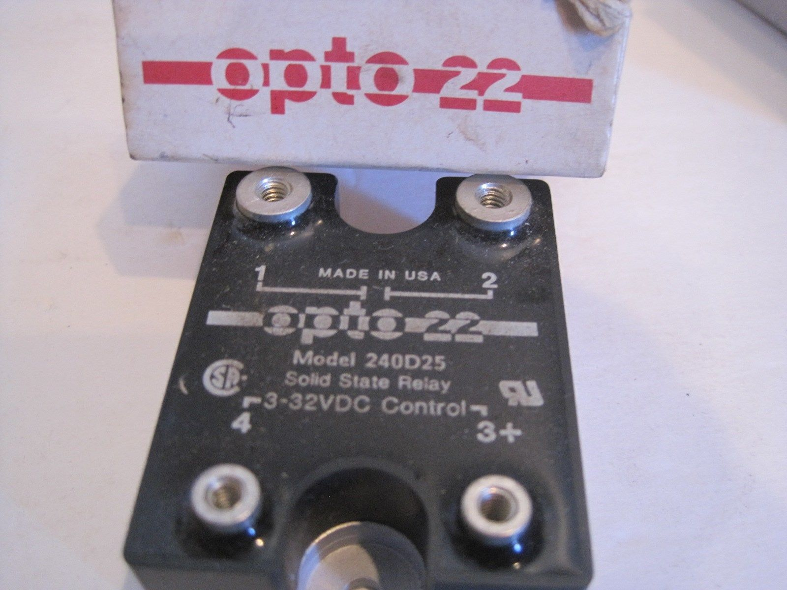Sb Industrial Supply Mro Plc Equipment Parts Solid State Relay Opto 22 New 240d25