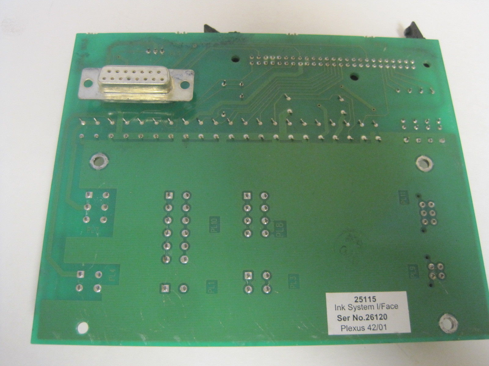 Ink System Interface Board 25015 25015B 25115 Used