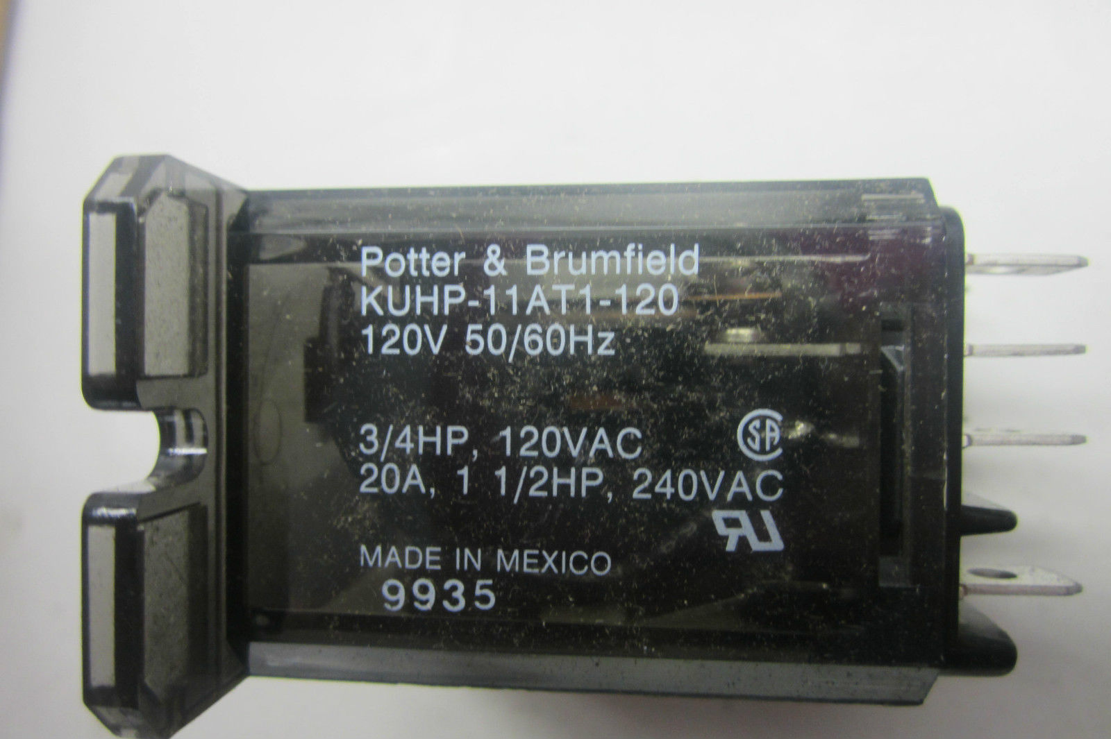 3 NEW POTTER /& BRUMFIELD KUHP-11AT1-120 POWER RELAY KUHP11AT1120