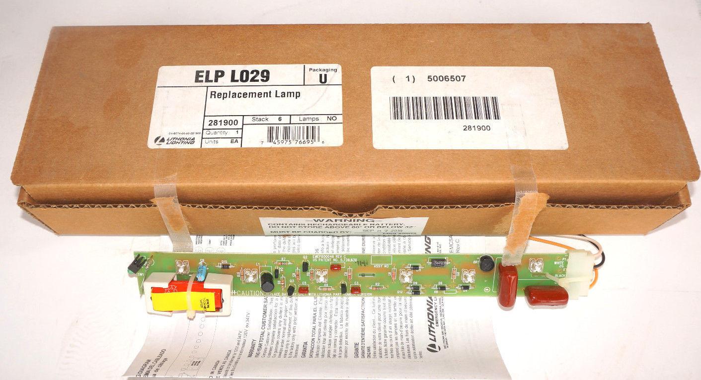 NEW LITHONIA LIGHTING ELP-L029 BOARD 281900 ELPL029  sc 1 st  SB Industrial Supply - MRO/PLC Industrial Equipment/Parts & SB Industrial Supply - MRO/PLC Industrial Equipment/Parts