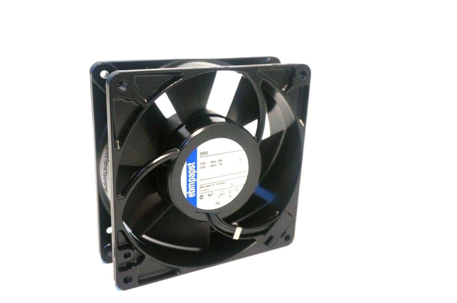 new ebm papst 5958 axial fan