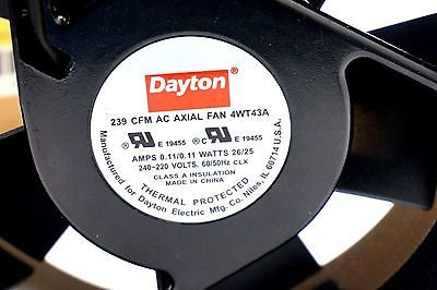 DAYTON 4WT43A AXIAL FAN
