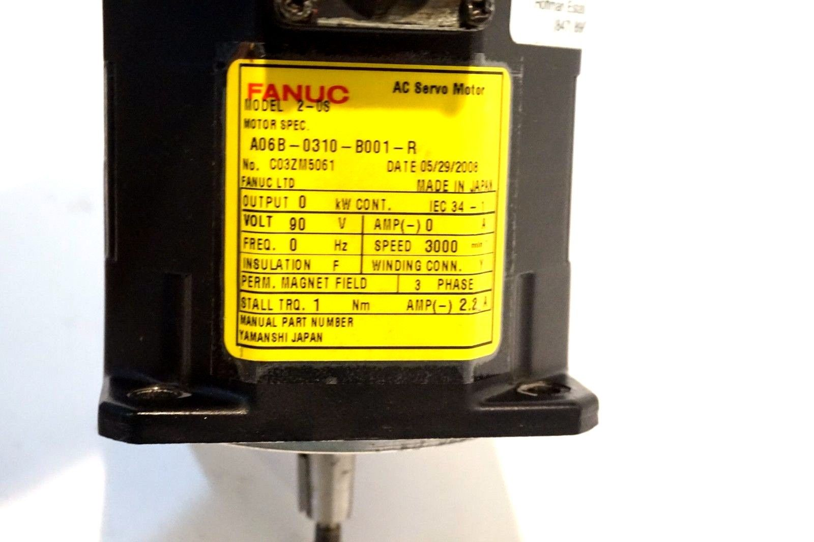 Fanuc dc servo manual