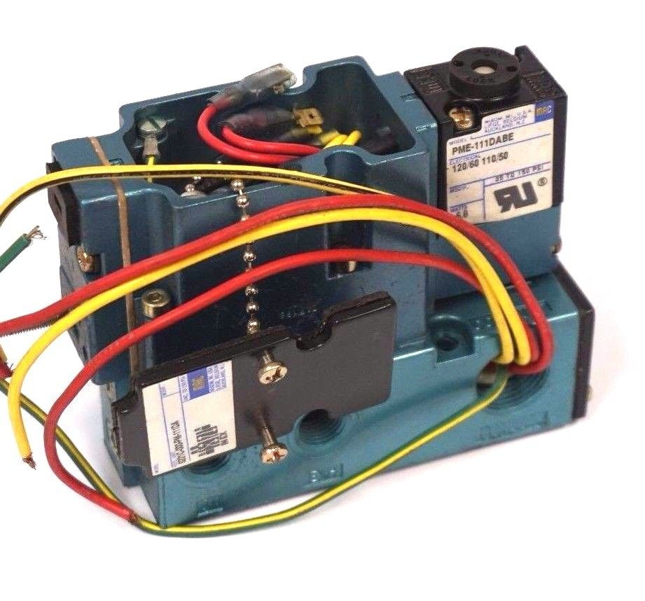 Sb Industrial Supply Mro Plc Equipment Parts Mac Valve Electrical Wiring New Valves Pme 111dabe Solenoid Pme111dabe