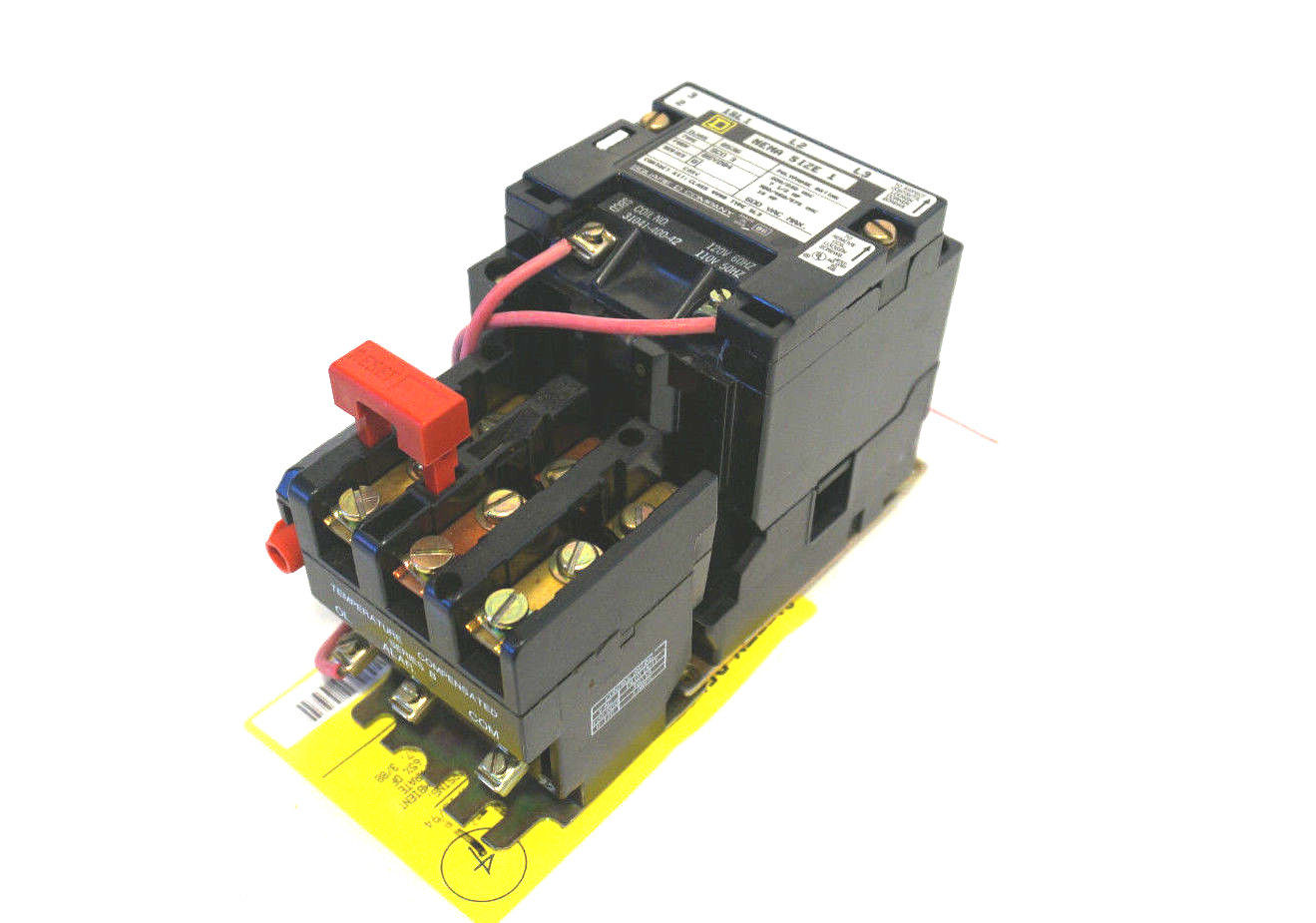Sb industrial supply mro plc industrial equipment parts for Square d motor starter