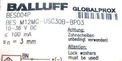 NEW BALLUFF BES M12MG-USC30B-BP03 SENSOR BES004P