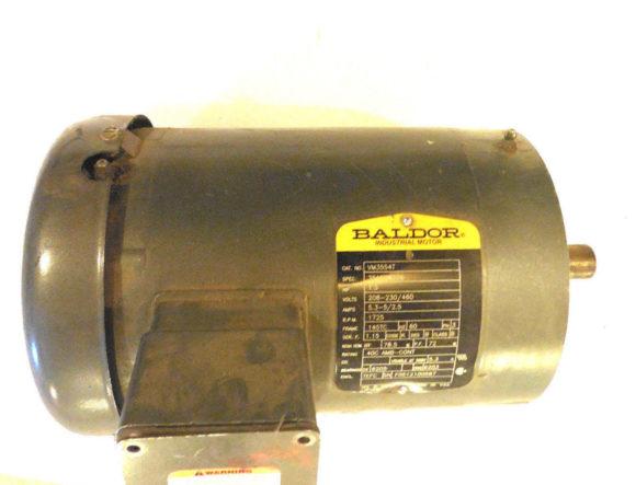 Sb industrial supply mro plc industrial equipment parts for Baldor 15 hp motor