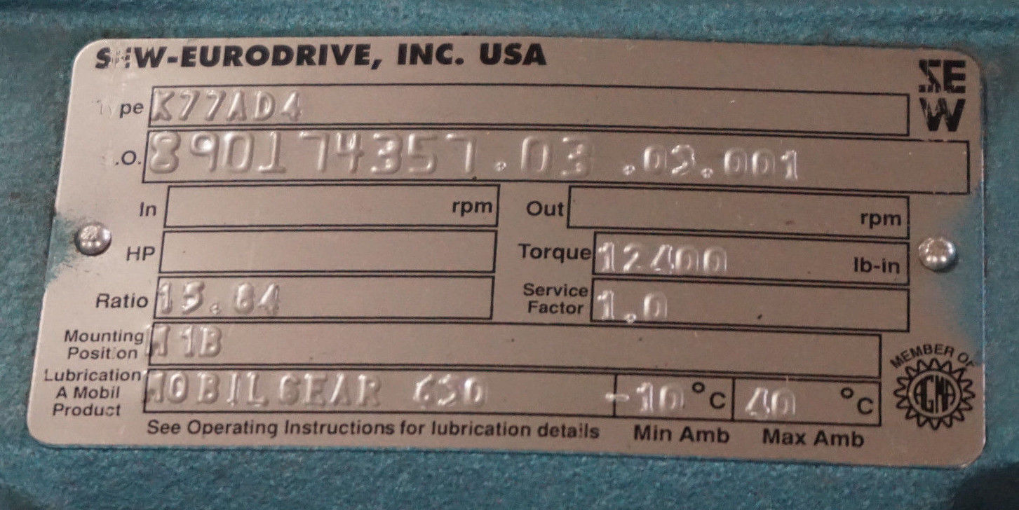 Sew Eurodrive Wa20drs71s4 Wiring Diagram How To Wire A Sew