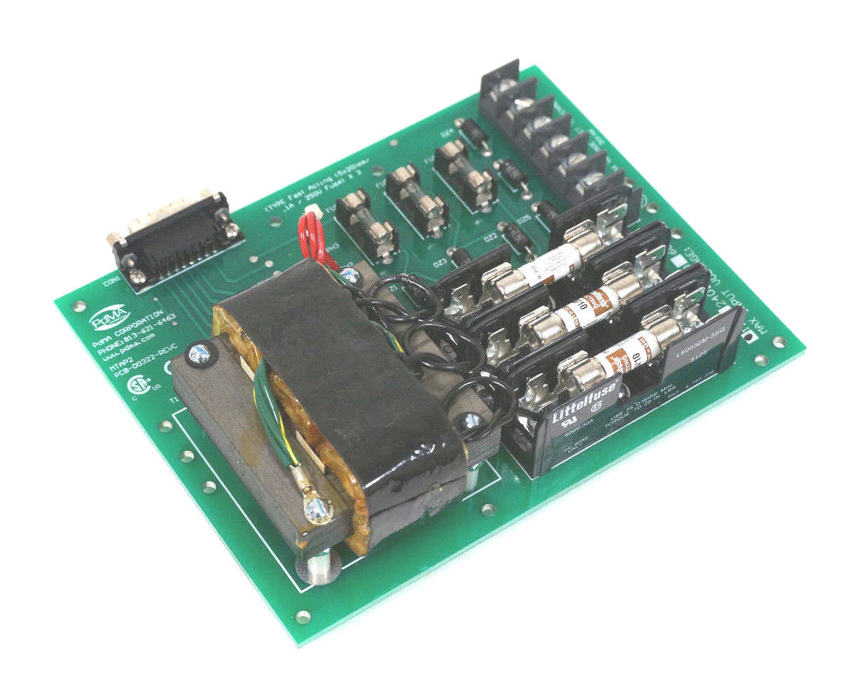 New Pdma Corporation Mtap2 Motor Tester Board Pcb